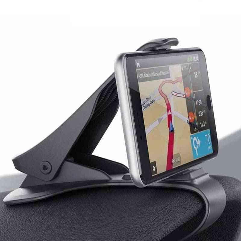 Car Phone Holder For Universal Mobile Phones Clip Mount Stand Bracket