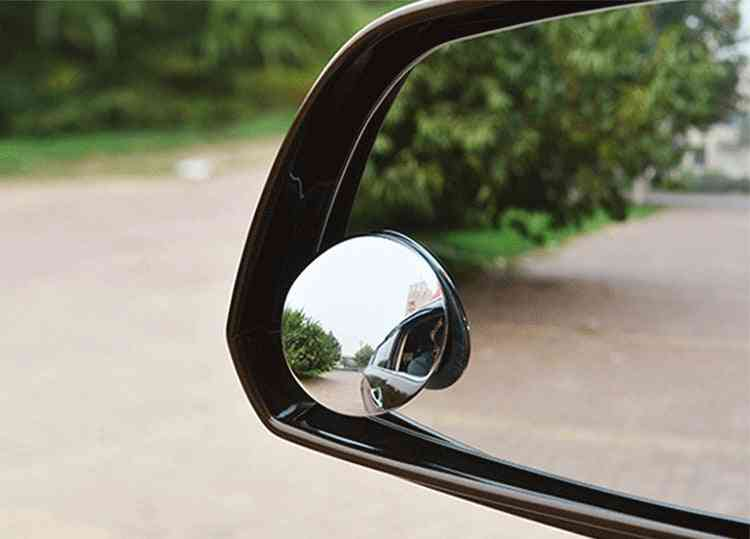 Reverse Frameless Wide Angle Round Convex Rear View Mirror