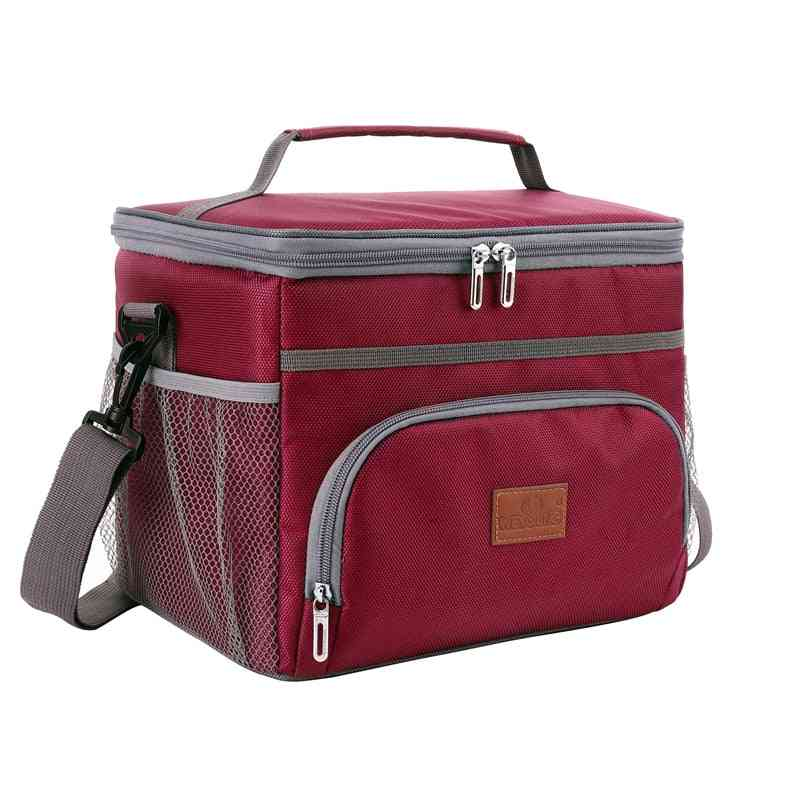 Insulated Thermal Cooler Lunch Box Bag