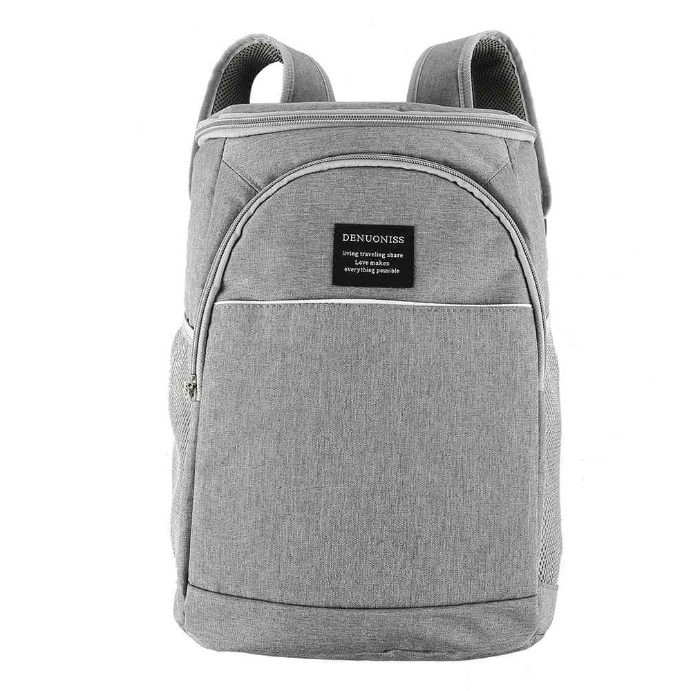 High-capacity Cooler Backpack, Family Lunch Picnic Food Storage Ice Bag
