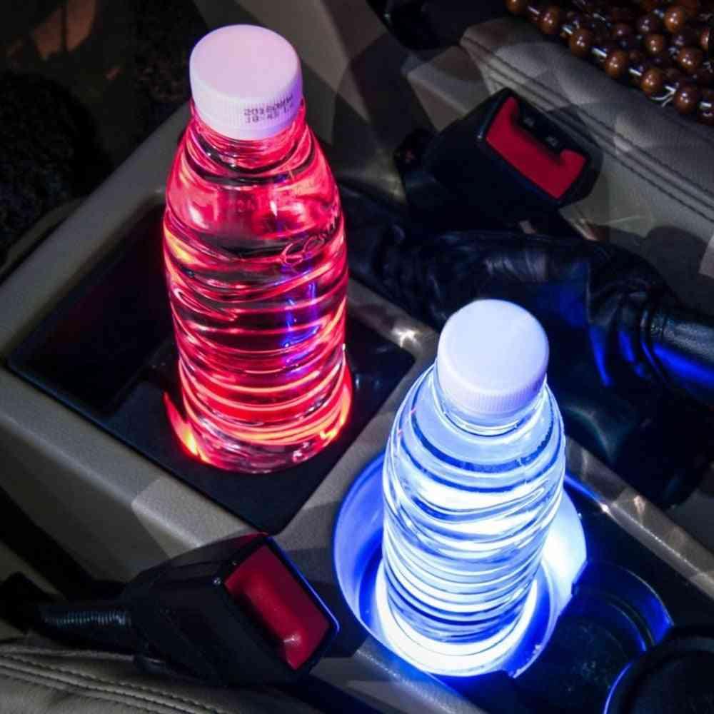 Automotive Universal Car Led Light Cup Holder