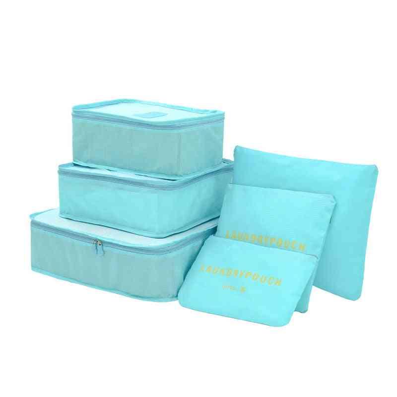 Cube Travel Bag, Unisex Clothing Sorting Organize