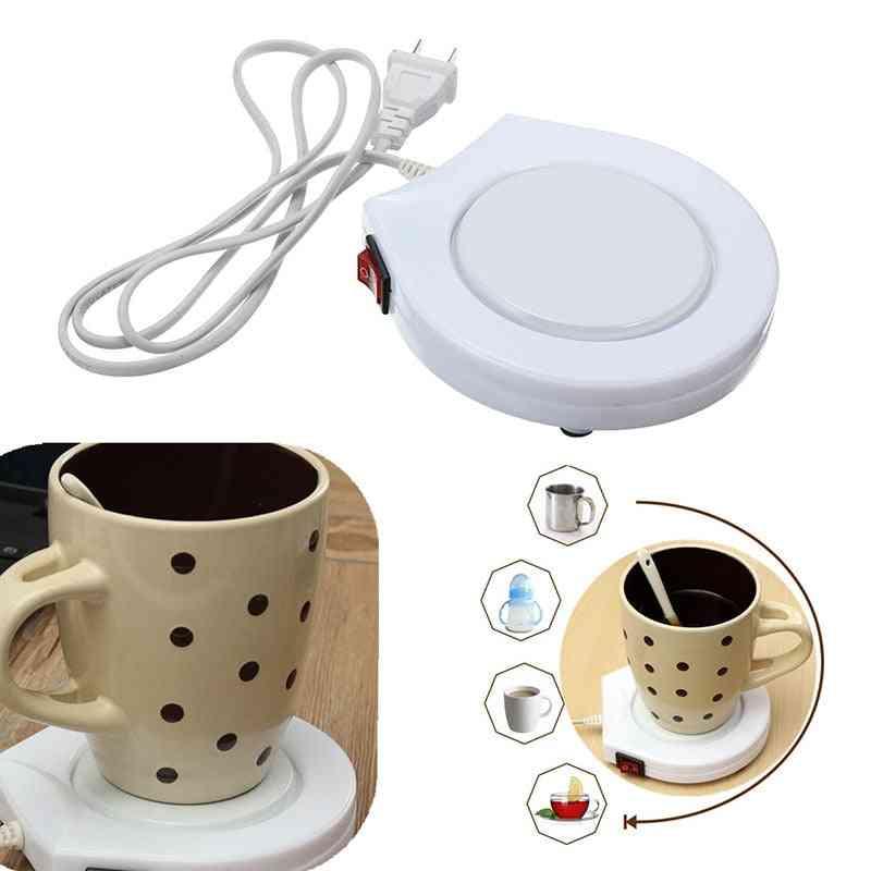 Portable Electronic Powered Cup Warmer Heater Pad For Coffee Milk Mug