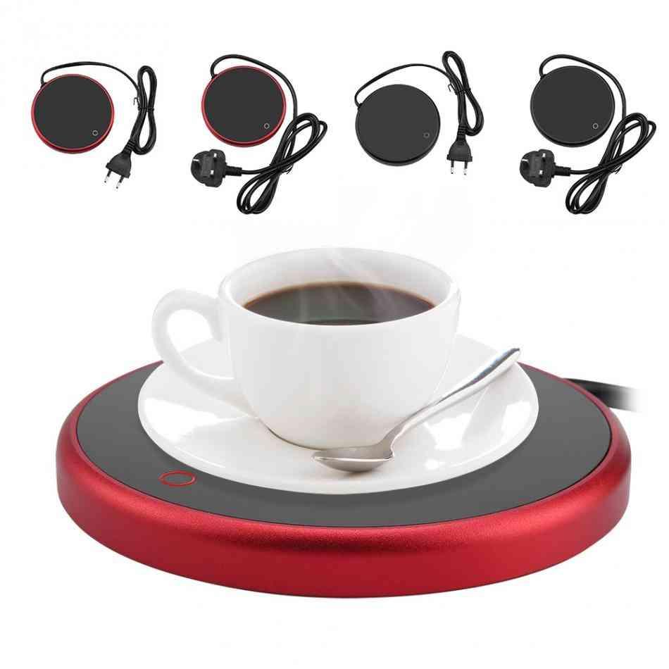 Electric Powered Cup Warmer Heater Pad Plate Coffee, Tea & Milk