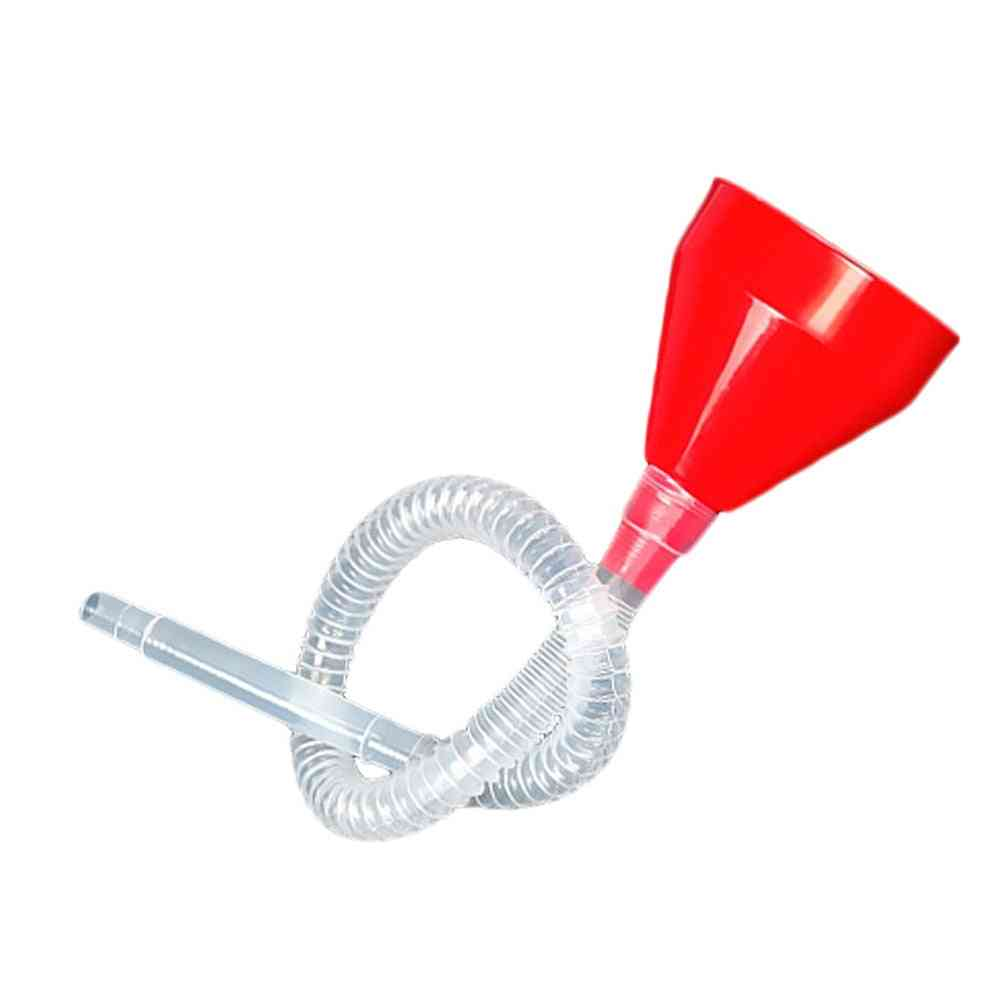 Plastic Funnel Can Spout For Oil / Water