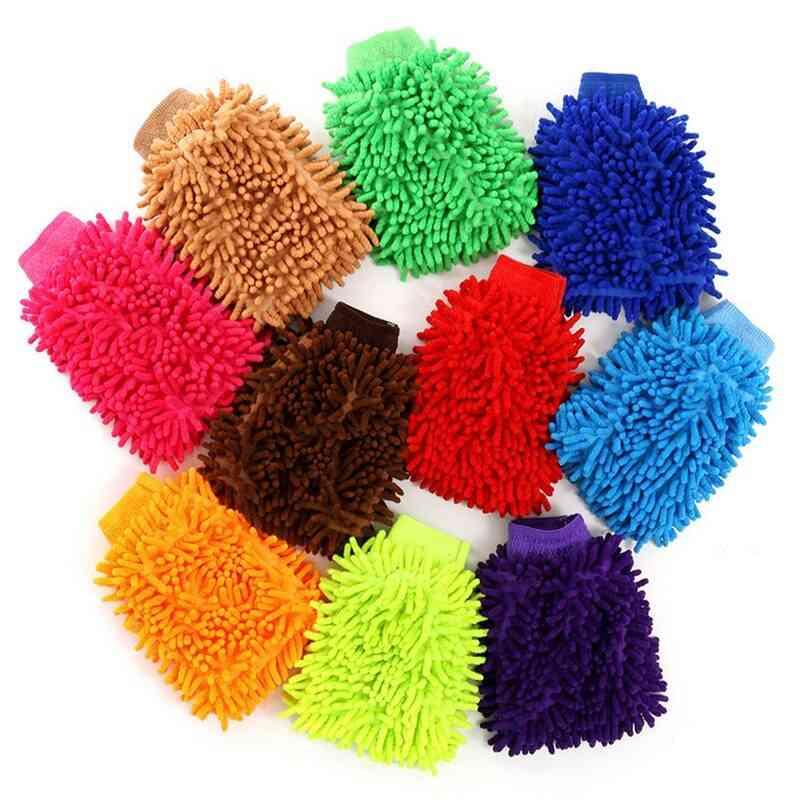 Washing Towel Hand Gloves Car Wash Window Dust Glove