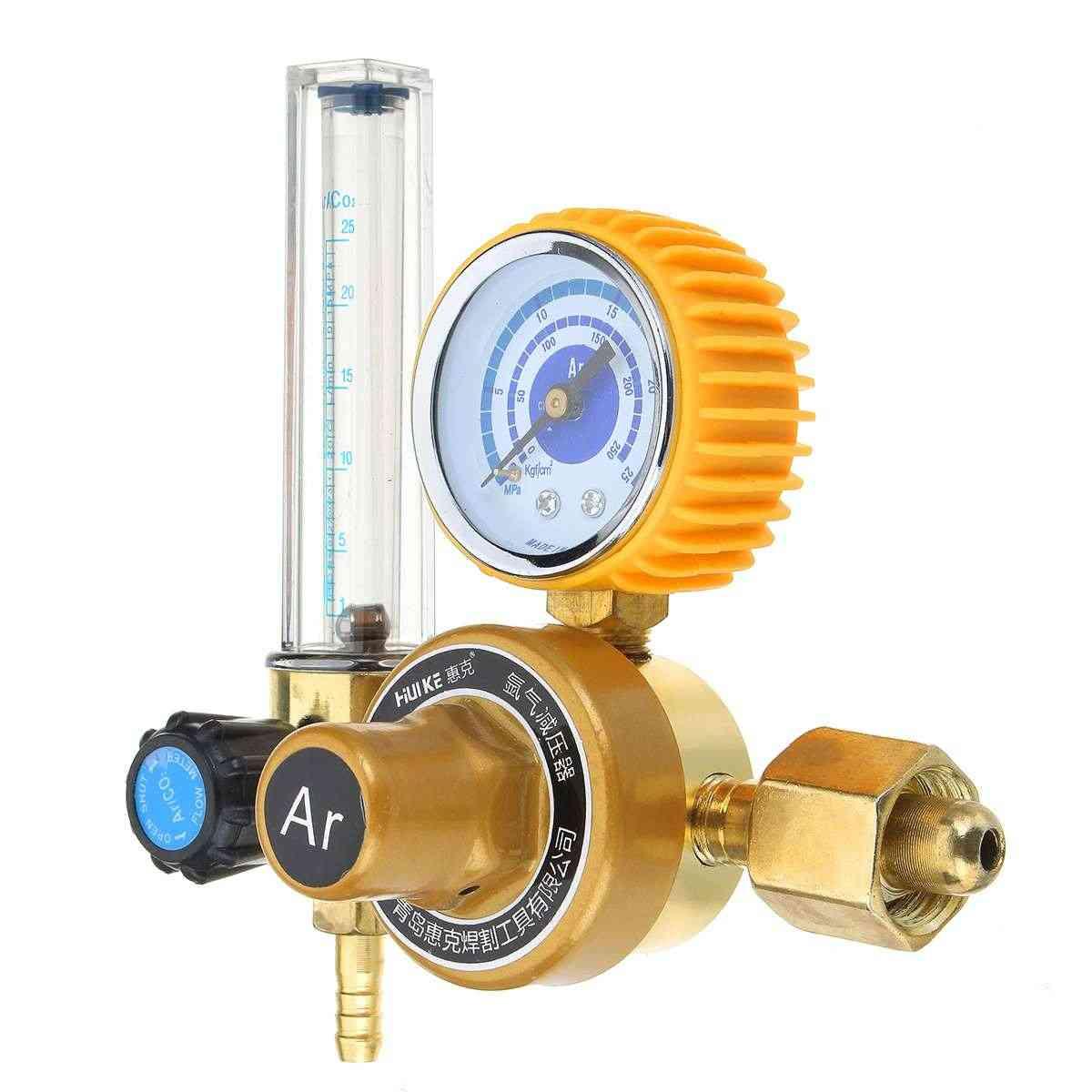 Argon Co2 Mig Tig Flow Meter, Gas Regulator Welding Weld Gauge