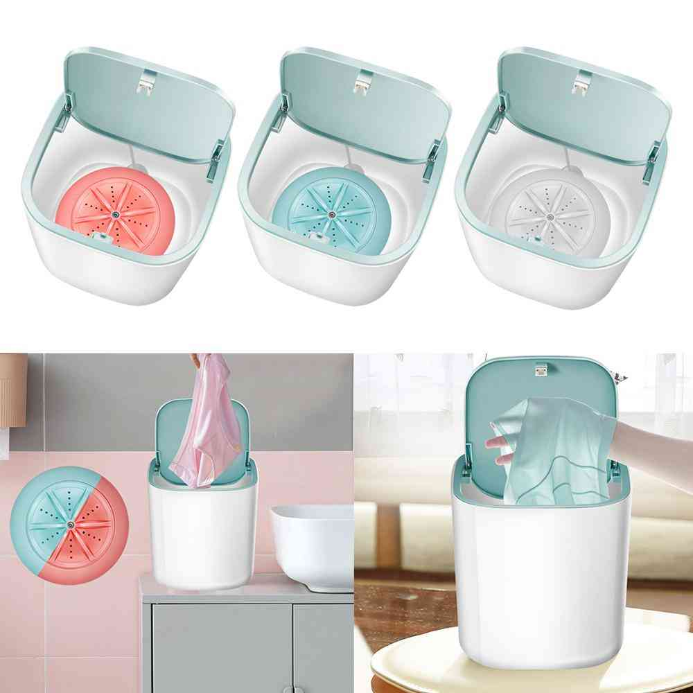 Portable Automatic Washing Machine With Usb Charging - Mini Clothes Washer