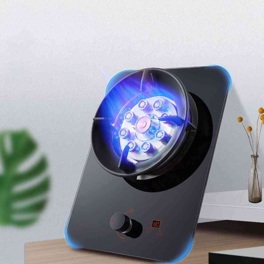 Home Embedded Natural, Desktop Hot Timed Liquefied Gas Single Stove