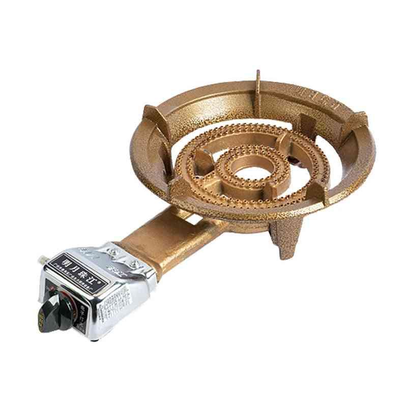 Gold Cast Iron Furnace Fierce Fire Stove