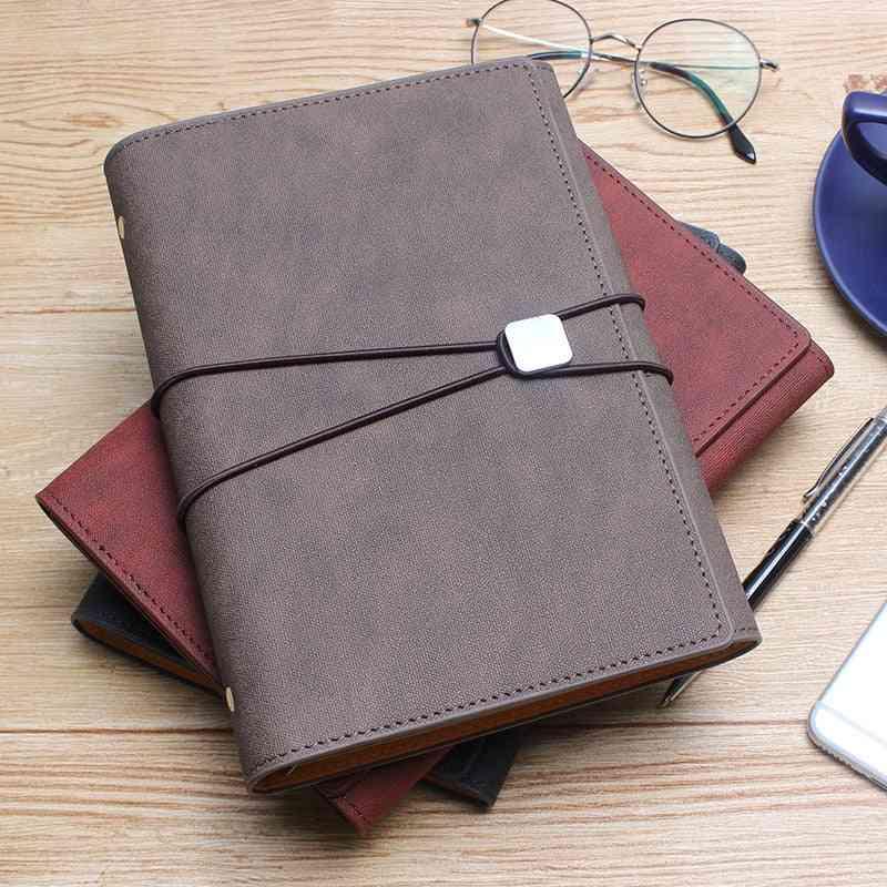 A5 Padfolio Clipboard Folder Card Holder Business Leather Organizer