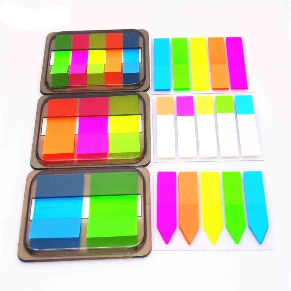 Self Adhesive Fluorescence Memo Sticky Pads
