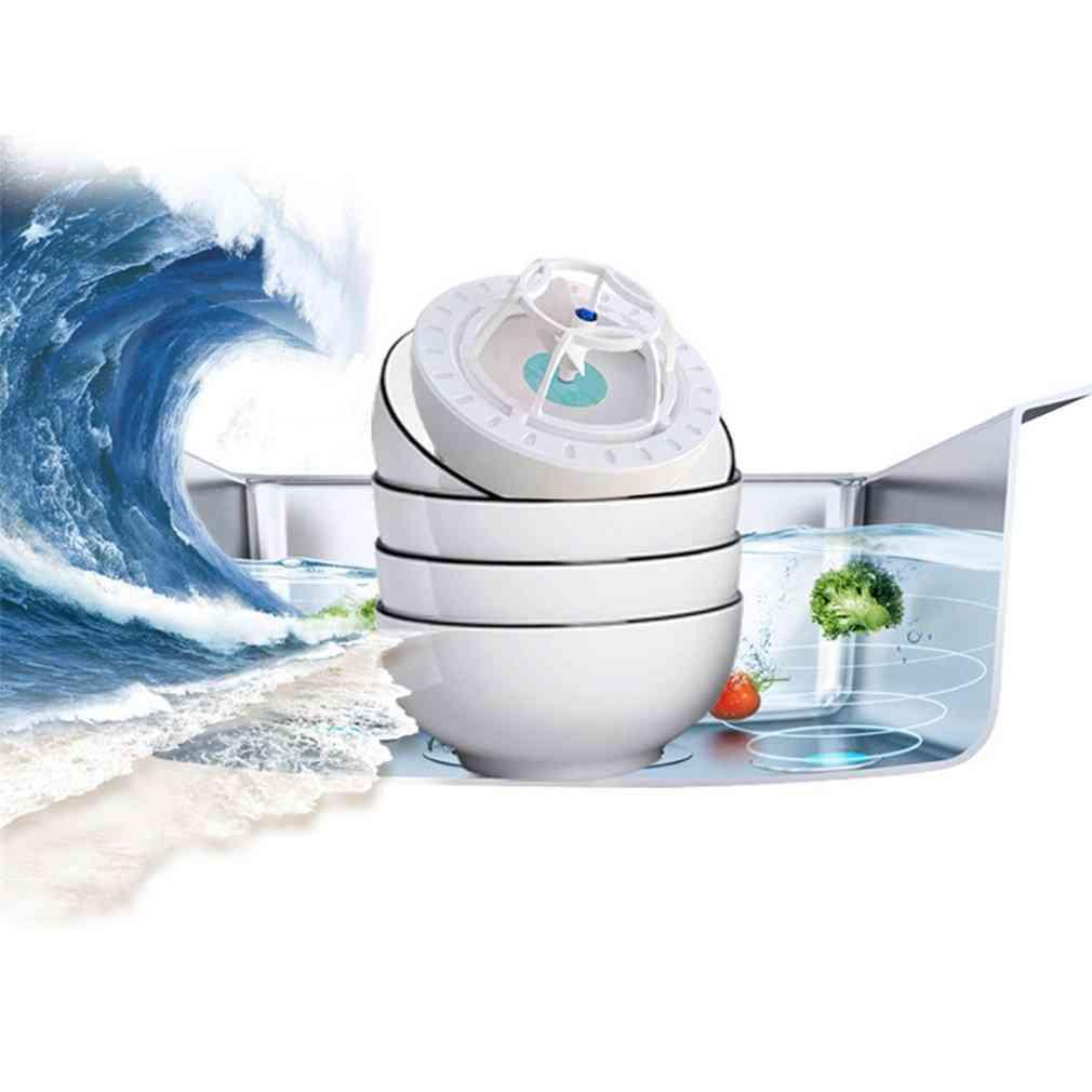 Ultrasonic Intelligent Sterilization, Electric Portable Dishwasher