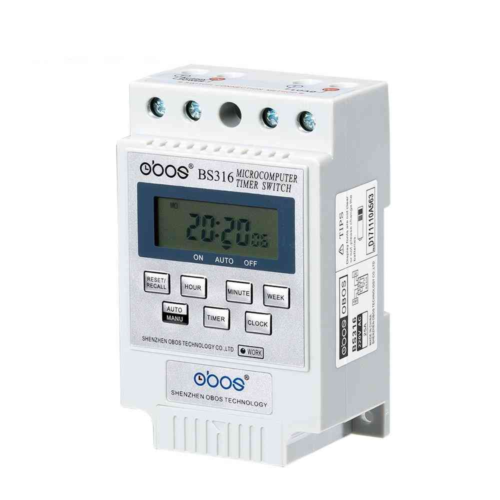 Bs316 Electronic Timing Switch With Relay Controller