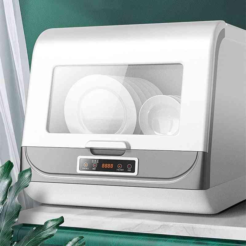Household Desktop Embedded Small Sterilization, Fully Automatic Dishwasher