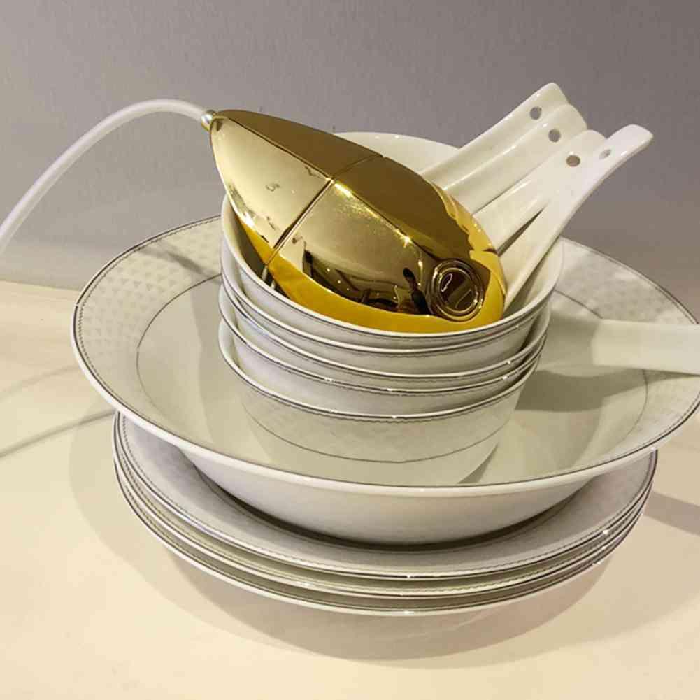 5w Multi-functional Ultrasonic Dish Washing And Sterilization Machine