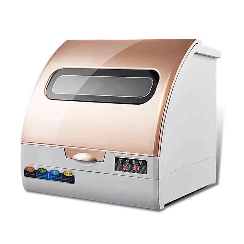 Household Automatic Dishwasher - Double Drying Small Machine