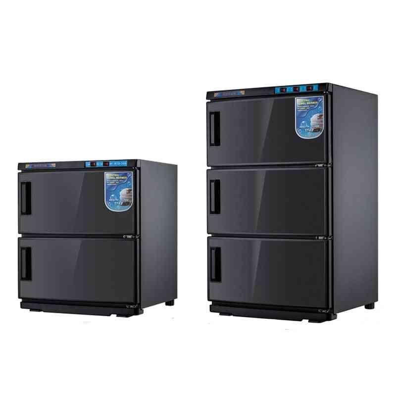 Wet Towel Heating Disinfection Cabinet Warmer - Uv Sterilizer Steam Box