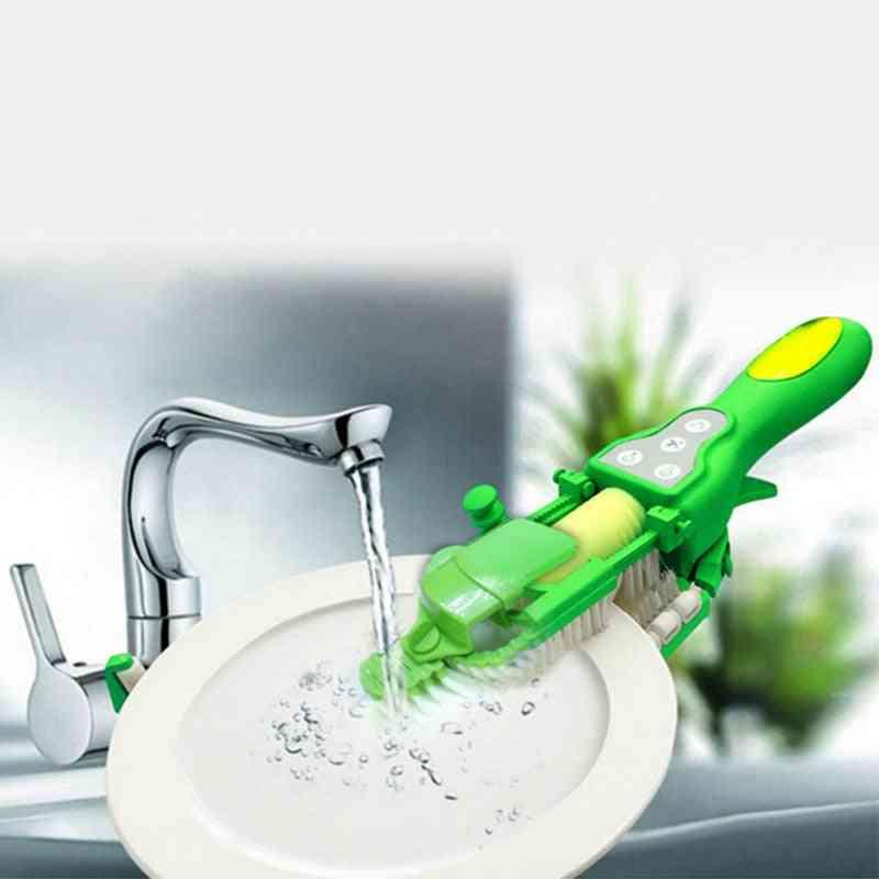 Handheld Automatic Dish Scrubber, Dishwasher Brush