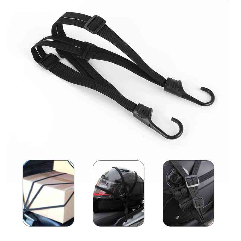Buckle Tie-down Belt Cargo Strap, Motorcycle Bike Rope Strong Ratchet Belts