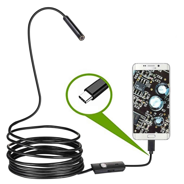 Usb Snake Inspection Camera With 8 Adjustable Led Lights