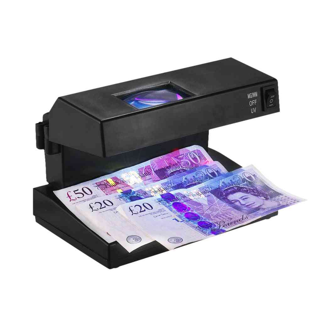 Portable Desktop Counterfeit  Cash Detector