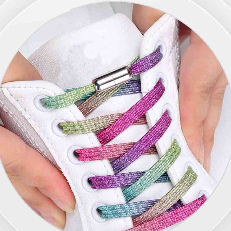 Elastic Shoelaces Locking Shoe Laces Strings
