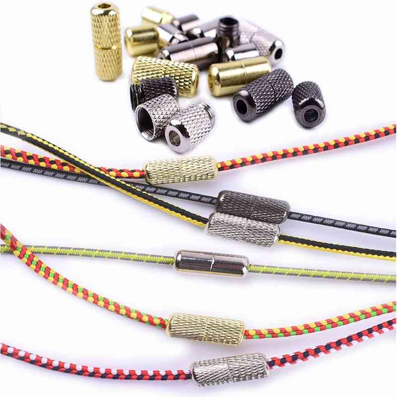Shoelace Buckle Metal Shoelaces Lock Accessories