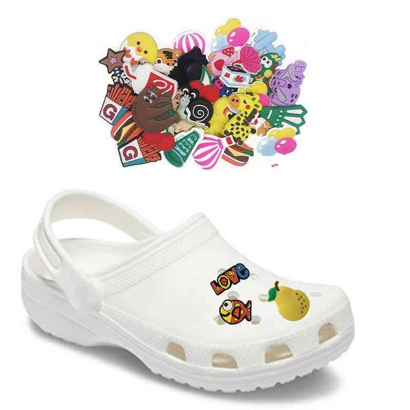 Cartoon Shoe Charms, Decoration Shoes Accessories
