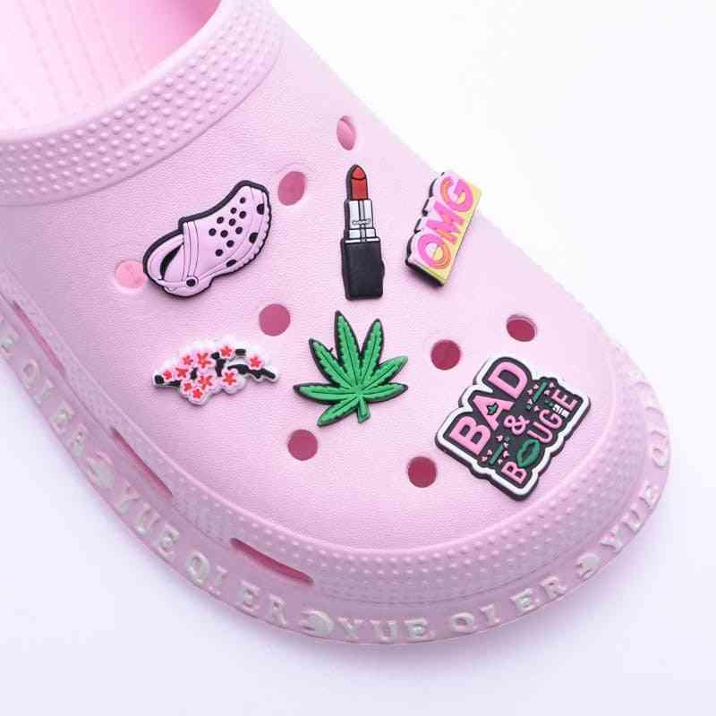 Original Shoe Charms Panther Pvc Croc Accessories Decorations
