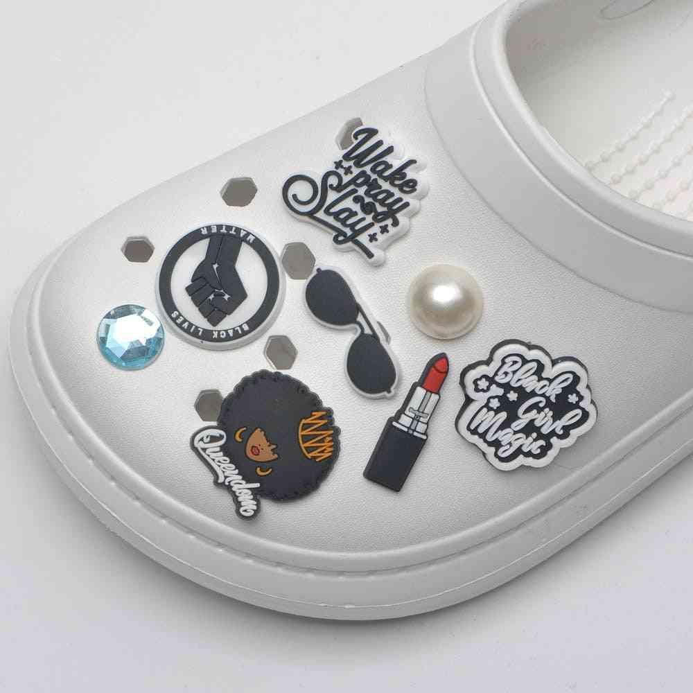 Shoe Charms Cartoon Portraits Accessories Decorations
