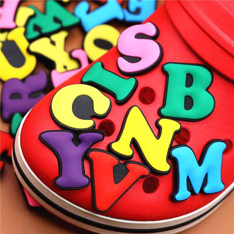English Letters Shoe Charms Shoes Accessories Buckle Decorations