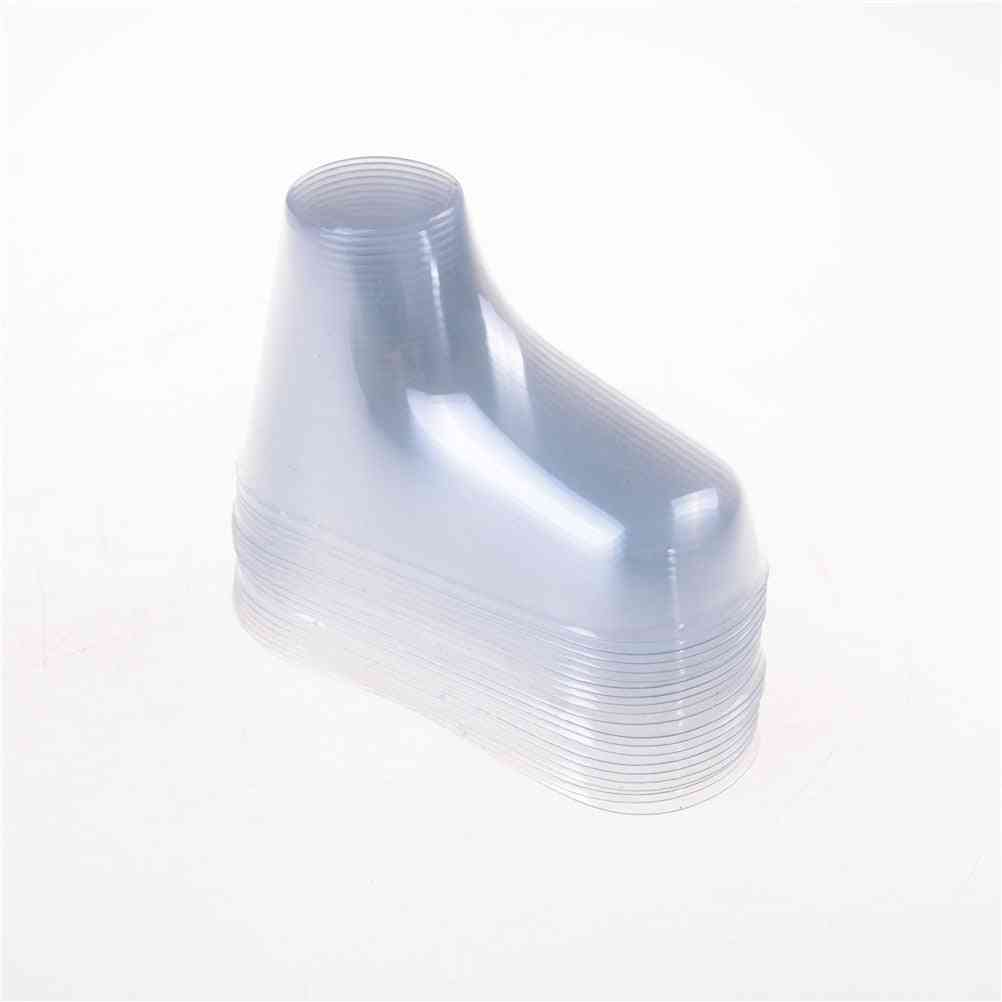 Plastic Transparent Foot Sock Molds Paste, Extrusion Display Baby Booties Mould