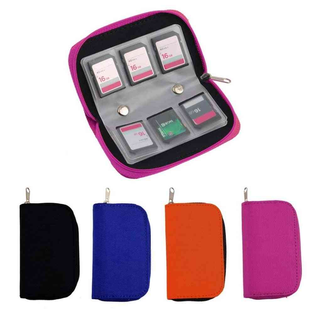 Sd Memory Card Storage/carrying Pouch -protector Wallet