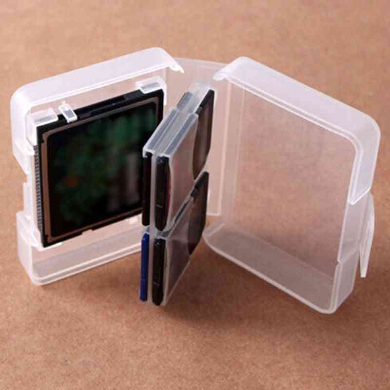Memory Card Cases -plastic Storage Box