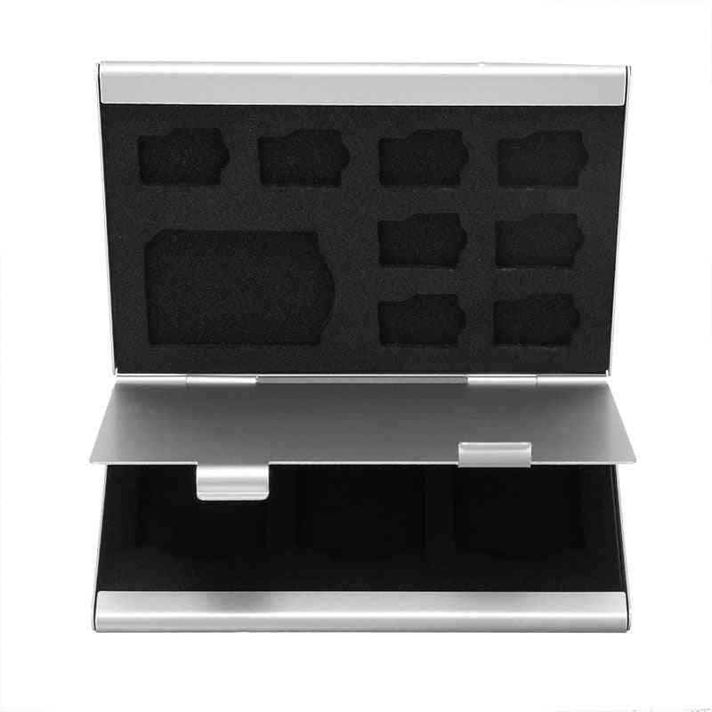 Mini Micro Tf Sd Memory Card Storage Case Protector Holder
