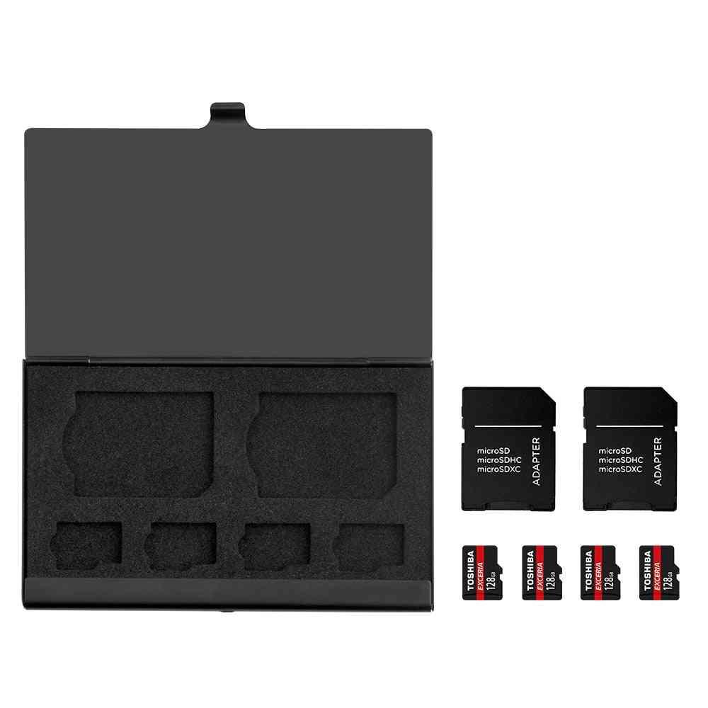 Memory Card Storage Case, Micro Sd Holder, Bag