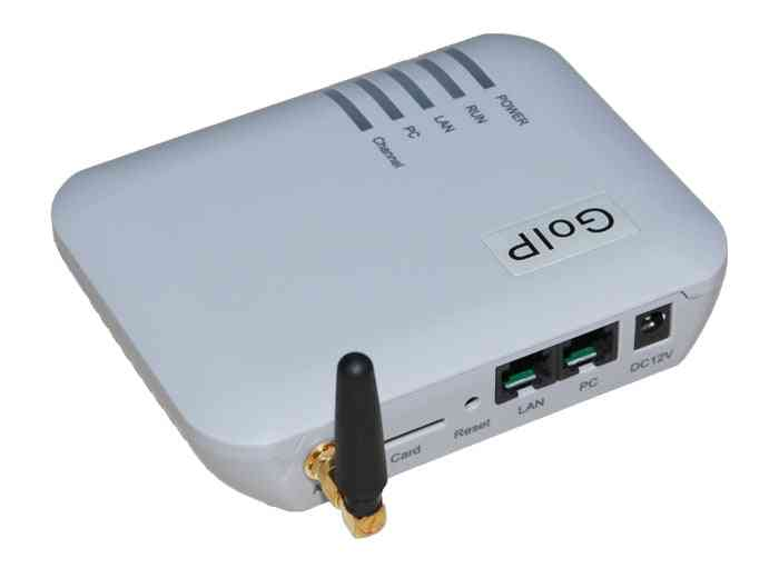 Goip 1 Chip Gsm Gateway (imei Change, 1 Sim Card, Sip & H.323, Vpn Pptp).sms Gsm Voip