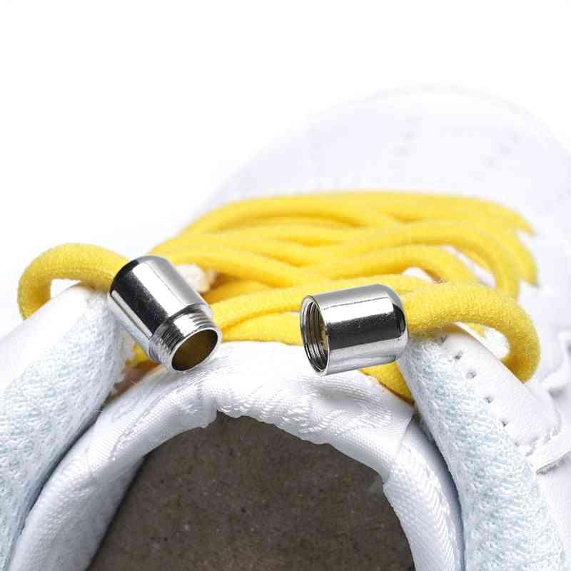 Metal Lock Elastic Shoelaces Adult