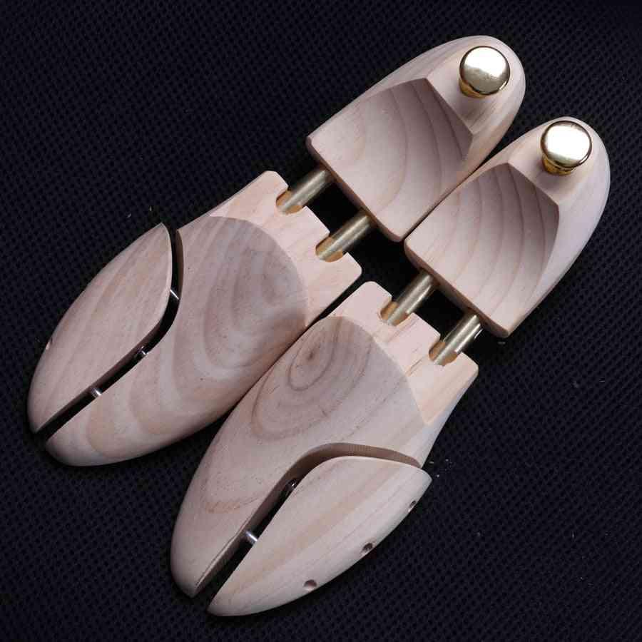 Tree Metal Knob Adjustable Pine Wood Shoe