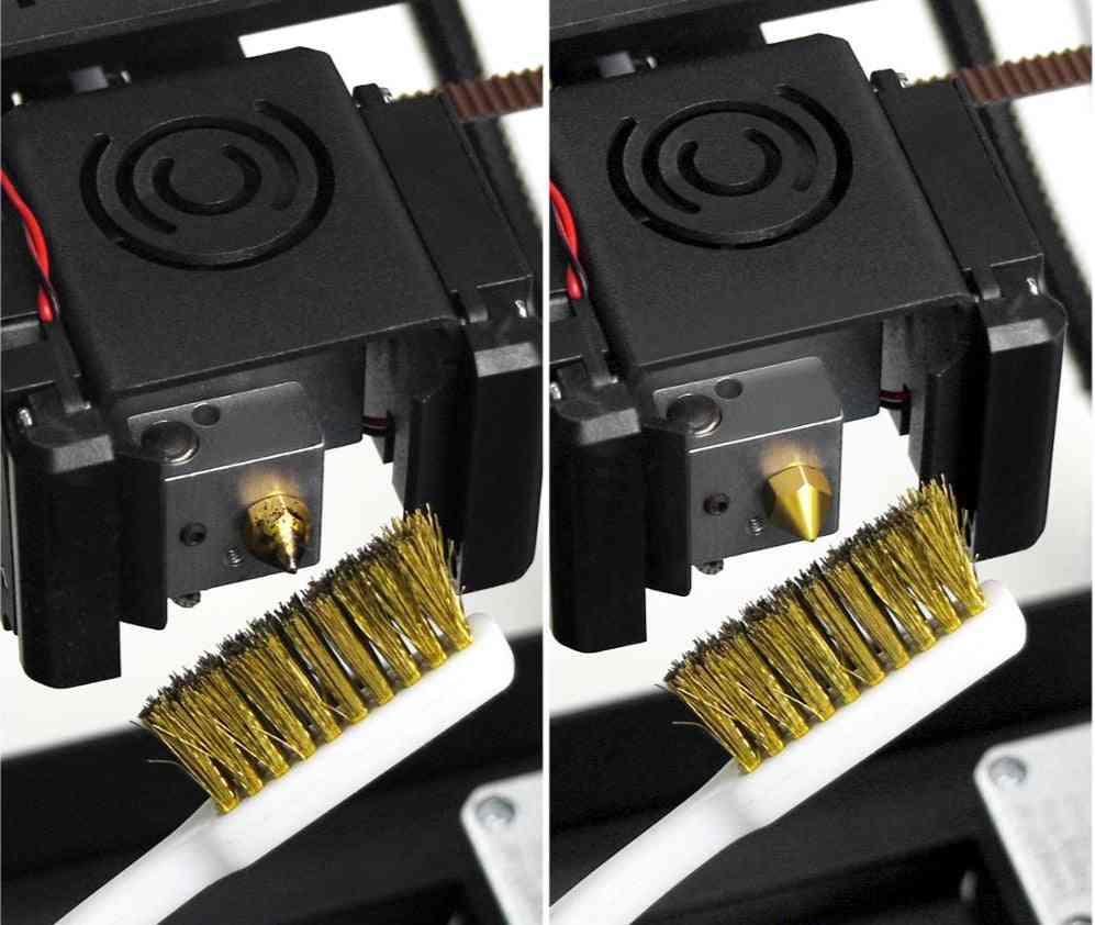 3d Printer Cleaner Tool Copper Wire Toothbrush Brush Handle