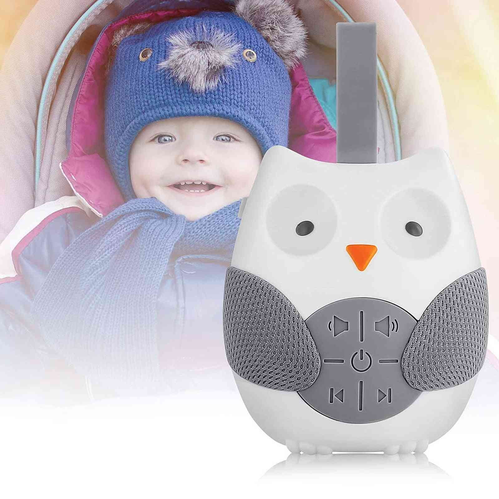 Owl Noise Machine Cute Baby Soother Sleep Helper Sound For Sleeping Relaxation