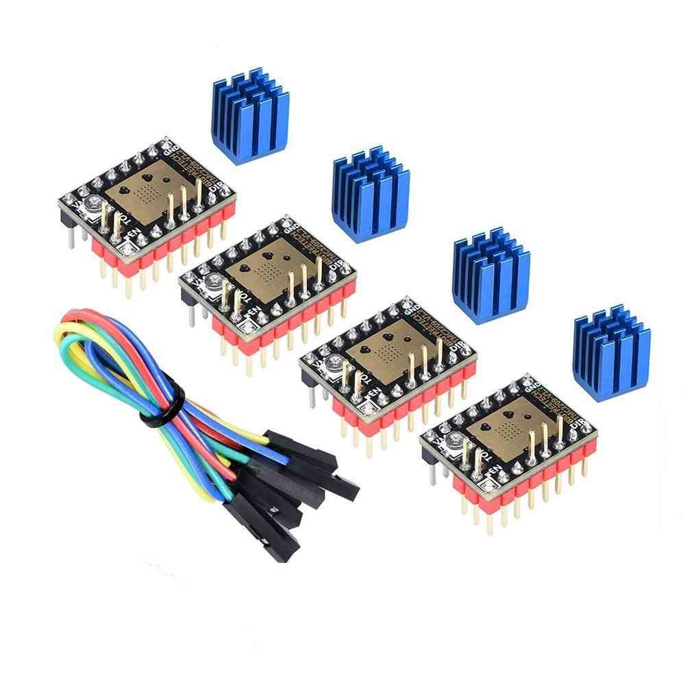 Stepper Motor Driver Tmc2208 Uart 2.8a 3d Printer Parts Tmc2130 For Skr V1.3 V1. 4 Skr Mini E3 Board