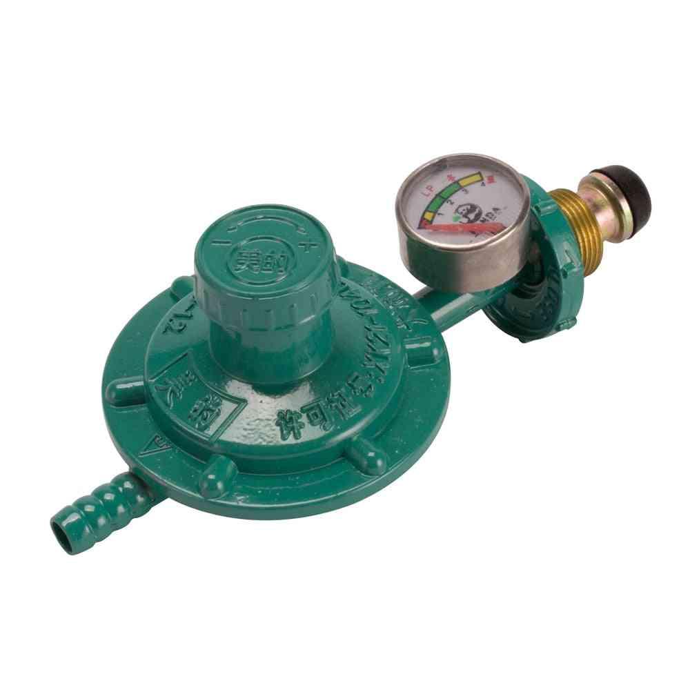 Bottled Liquefied Petroleum Gas Regulator Shockproof Oxygen Pressure Cylinder Gauge Burner Parts