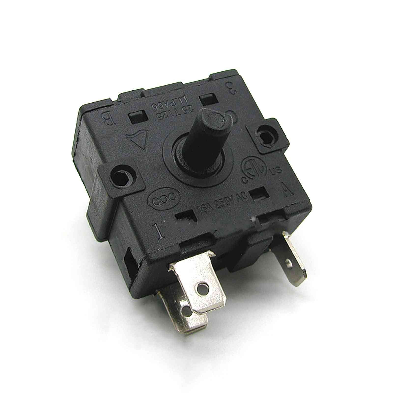 Rotary Switch Ac Electric Heater Radiator Repair Parts Accessories