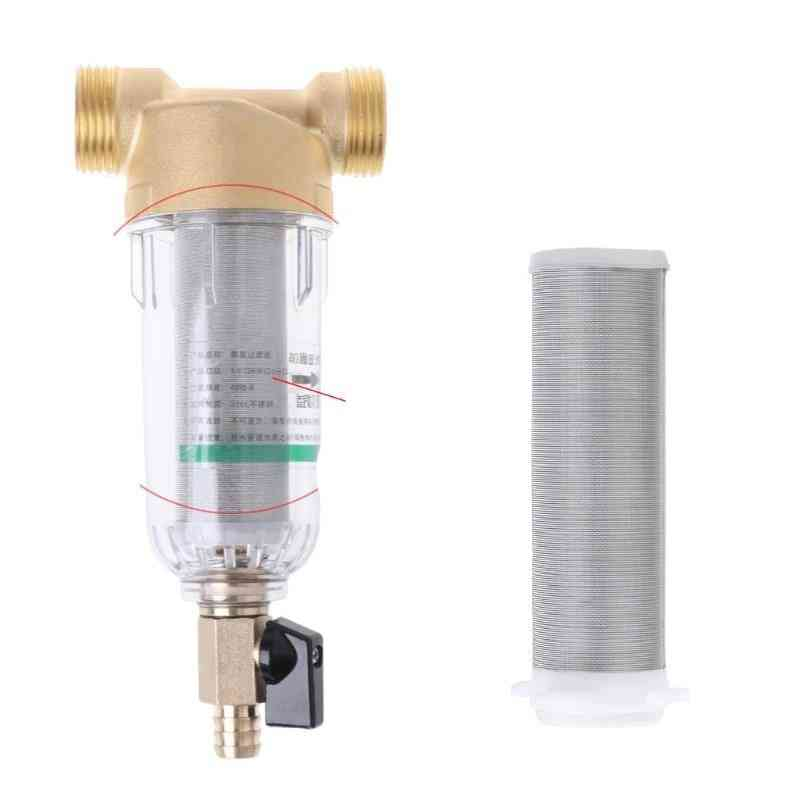 Water Net Filter Pre-filter Cartridge Replacement For Copper Lead Front Purifier