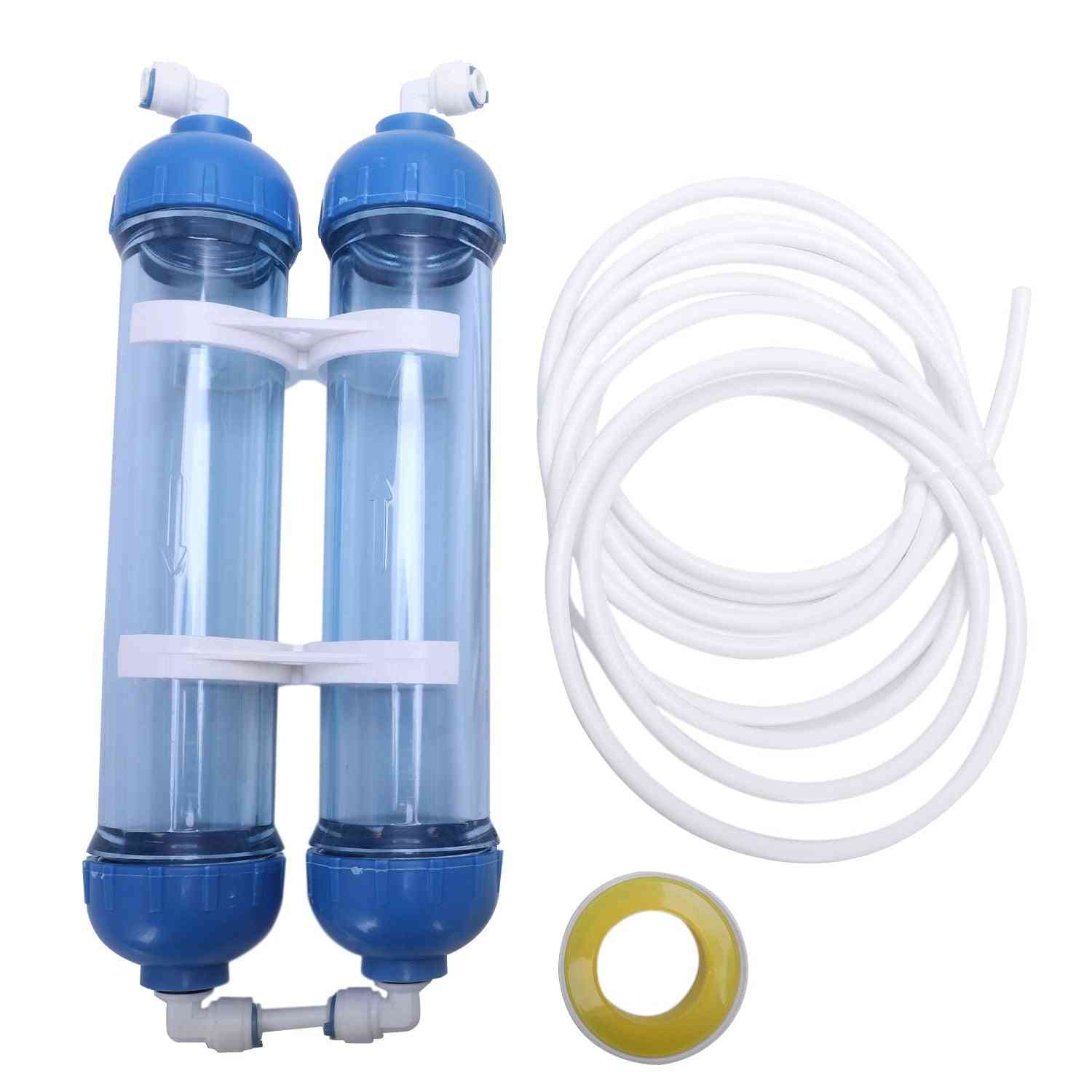 Water Filter Cartridge Housing Shell Bottle Fittings Purifier Reverse Osmosis System