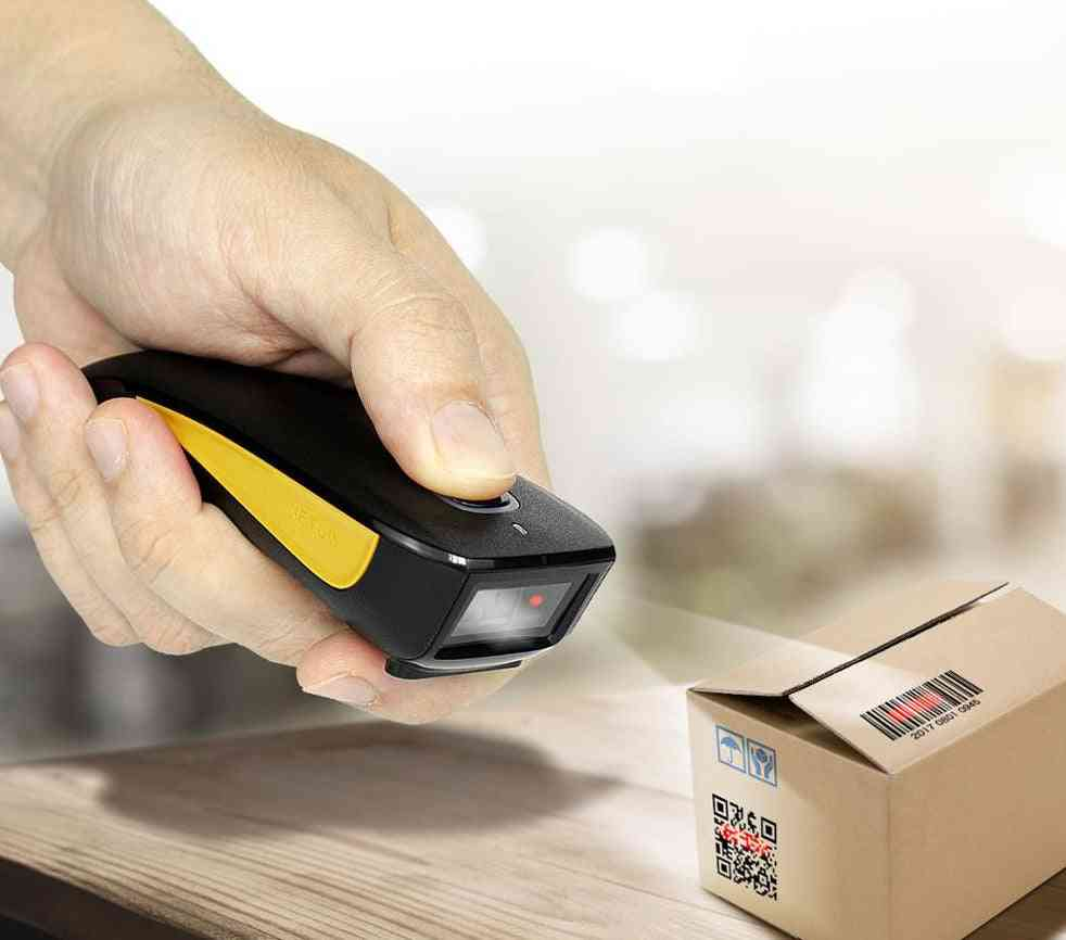 Wired/wireless 2d/1d Qr Barcode Scanner And C750
