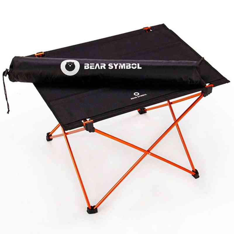 Portable And Fold-able Table For Outdoor Traveling