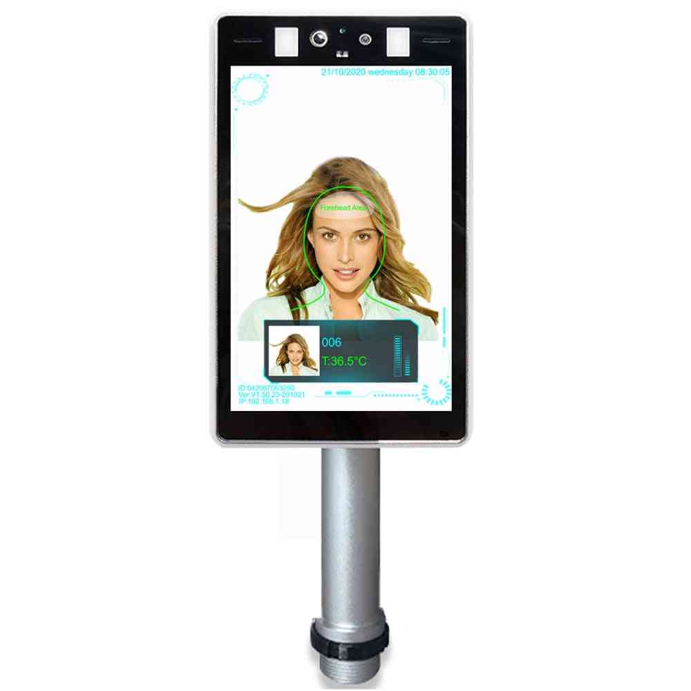 Thermal Facial Recognition Tablet Network Camera